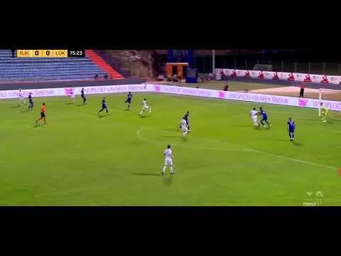 Rijeka 1-0 Lokomotiva GOL 76' Halilovic