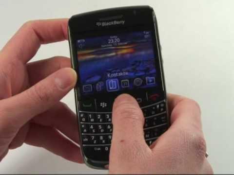 BlackBerry Bold 9700 Test Bedienung