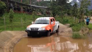 Menjajal Tata Xenon XT D-Cab 4x4 di medan off-road Jeep Station Indonesia, Gadok, Bogor