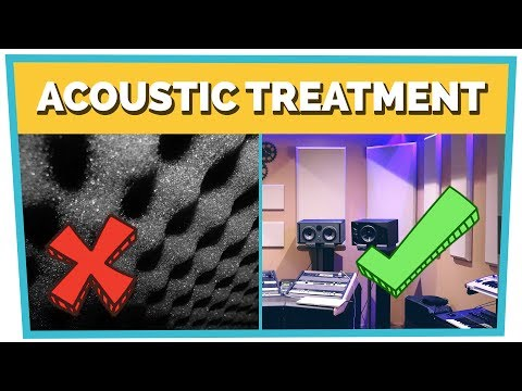 ACOUSTIC TREATMENT - How to Build a Home Studio (Part 3)