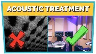 ACOUSTIC TREATMENT - How to Build a Home Studio (Part 3)
