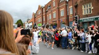 Olympic Torch Relay in Evesham (filmed with six cameras) Thumbnail