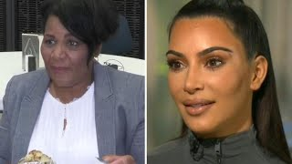 Kim Kardashian Teaches Alice Marie Johnson How to Use Snapchat