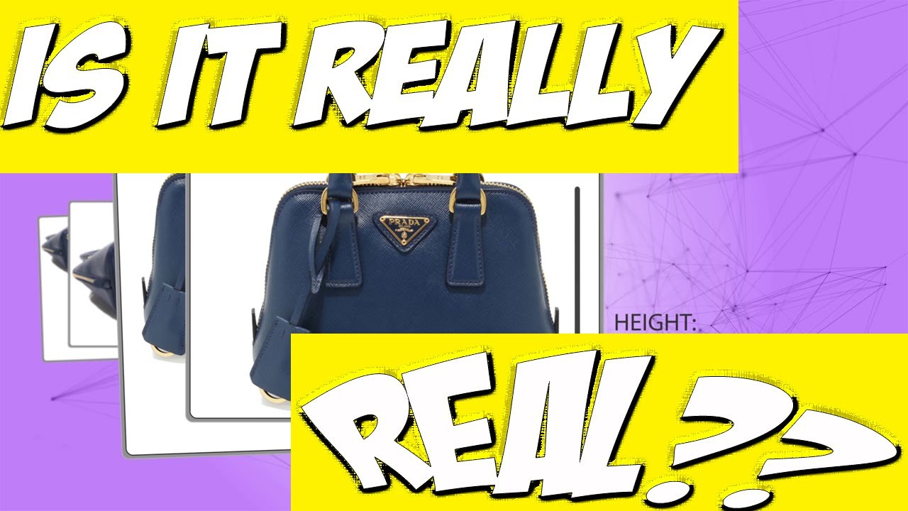 rose prada - How To Spot a Real (not FAKE) Prada Saffiano Mini Bag Review - YouTube