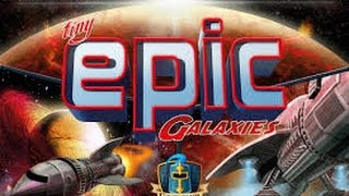 Tiny Epic Galaxies - Solo Playthrough