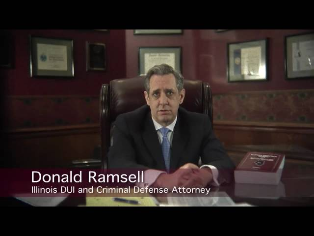 I Wrote the Book on Illinois DUI Law | Donald Ramsell Wheaton DUI Attorney