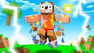 NOOB became AVATAR to IMPRESS GIRLFRIEND! (Minecraft)