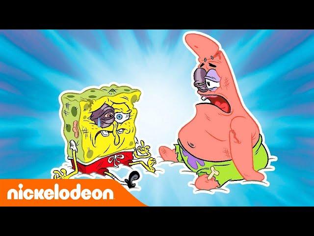 SpongeBob Squarepants | SpongeBob tegen Patrick | Nickelodeon Nederlands