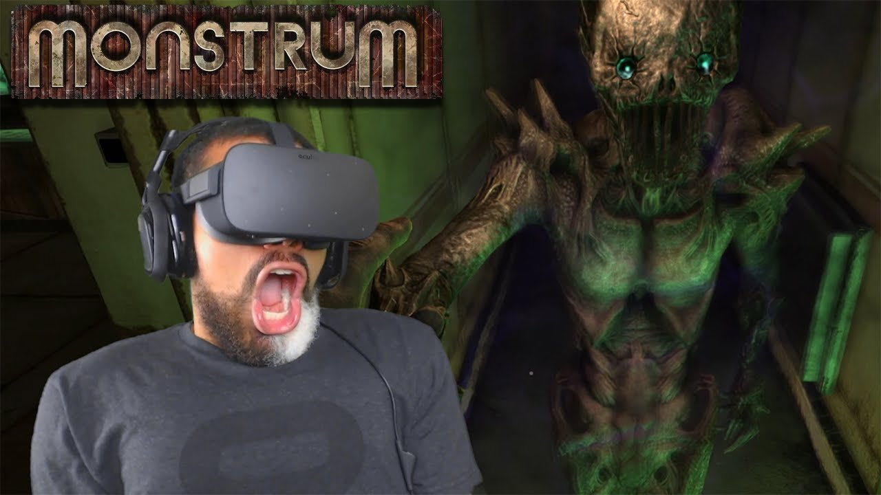 SCARIEST VR HORROR GAME?! | Monstrum in Virtual Reality