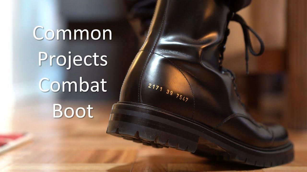 Common Projects Combat Boot - Review/On