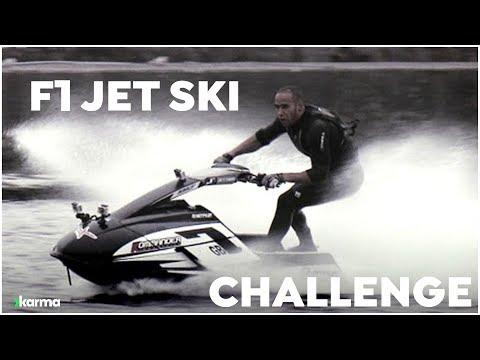 Formula One Jet Ski Challenge with Lewis Hamilton and Jenson Button