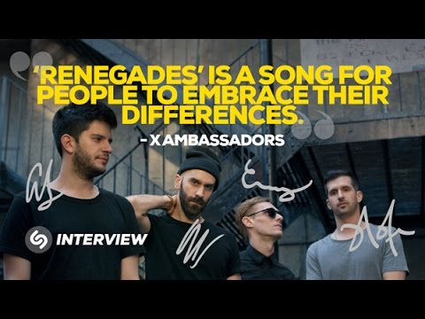 """X Ambassadors interview: """"'Renegades' is a song for people to embrace their differences"""""""