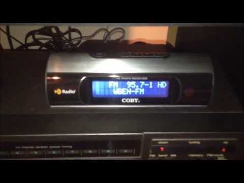 Coby HDR-650 AM/AM Stereo/FM HD Radio Tuner
