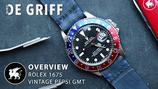 Rolex GMT Master Pepsi Overview - Reference 1675 - Review of a legend