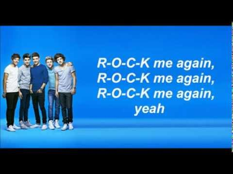 One Direction - Rock me (Lyrics and Pictures)