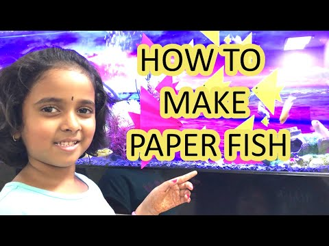 How To Make A Paper Fish Without Glue| Easy & Simple | DIY Craft For Kids | #TanavSuchiKids