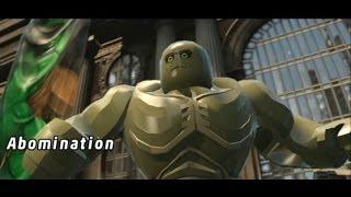 LEGO Marvel Super Heroes 100% Walkthrough Part 1 - Sand Central Station (Sandman Boss Fight)
