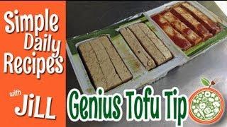 Genius Tofu Marinating Tip - Simple Daily Recipes