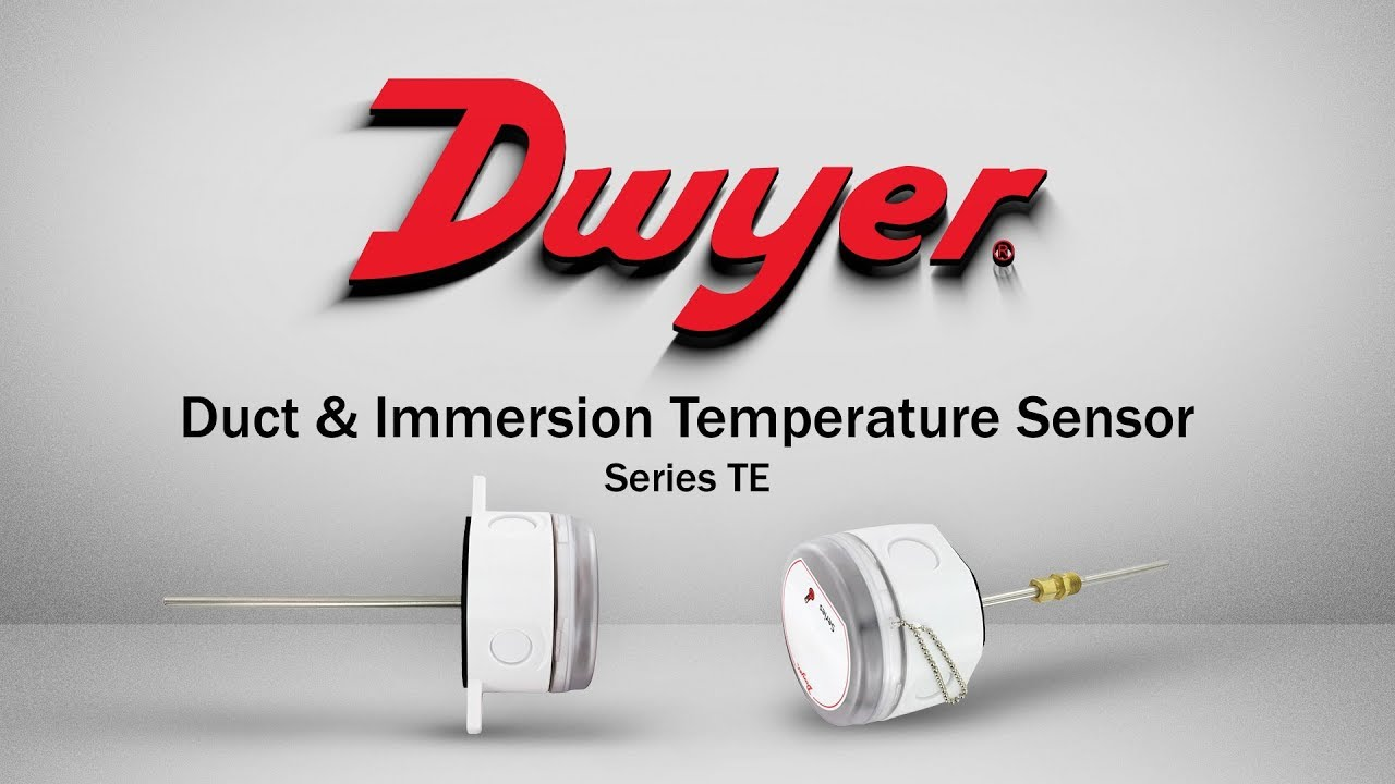 Duct and Immersion Temperature Sensor | Series TE