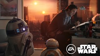 Take a look at what's going on with some of the amazing Star Wars projects our teams at EA are working on now, including DICE, BioWare, Motive, Visceral ...