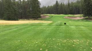 Banff Springs GC- Hole 2- The Abominable Snowman!