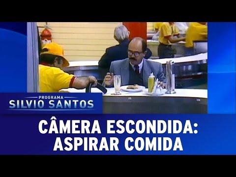Aspirar comida | Câmeras Escondidas (23/04/17)