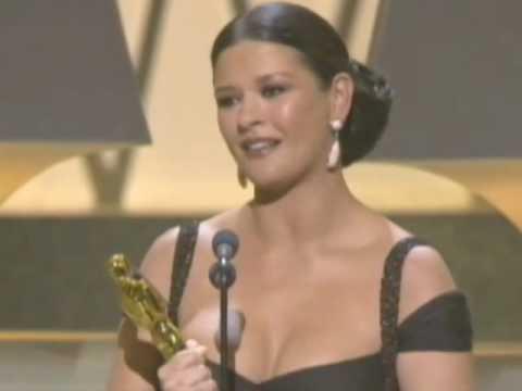 "Catherine Zeta-Jones winning an Oscar®  for ""Chicago"""