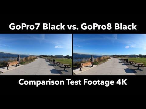 GoPro 7 Black Vs. GoPro 8 Black Video Comparison Test (4K Footage)