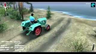 Моды в Spin Tires 2014 | Трактор Kramer kl200