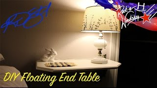 DIY Floating End Tables