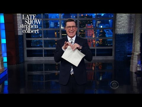 Stephen Digs Into James Comey's Opening Statements