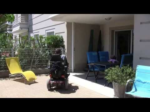 Accessible holiday apartment for rent in France, Canet Plage