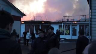Пожар в Минусинске 25.04.2017 Часть 7