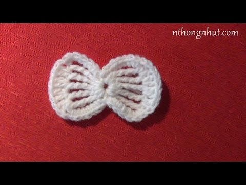 Hướng dẫn móc nơ bằng len