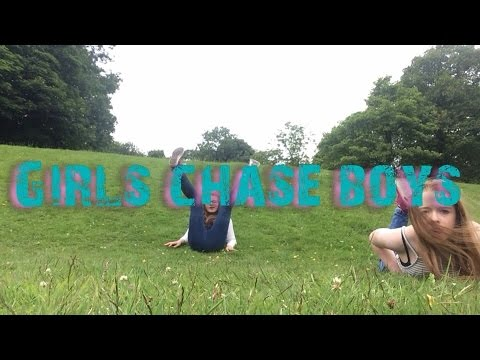 Girls chase boys || with Leah || video star 🙌🏻
