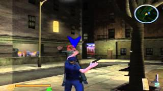Narc - Playstation 2, PCSX 2 Gameplay - Cops On Drugs.. XD ( Classic Game )