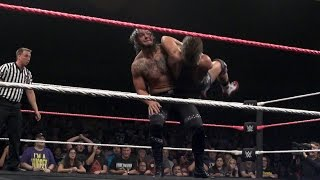 baron corbin delivers an emphatic end of days slow mo replay from wwe nxt takeover respect