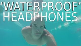 Best Waterproof Headphones? - Waterproof test - Waveport E'NOD