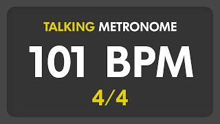 101 bpm talking metronome 44