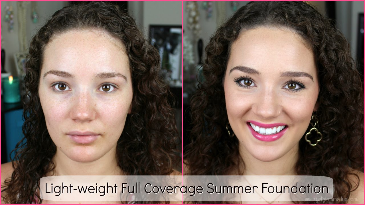 light full coverage foundation