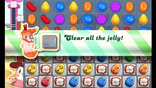 Candy Crush Saga Level 447 walkthrough (no boosters)
