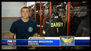16-year-old Volunteer Firefighter Saves Umpire
