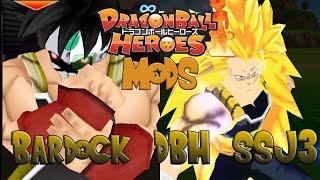 DragonBall Heroes Tenkaichi Tag Team Mods Bardock SSJ3