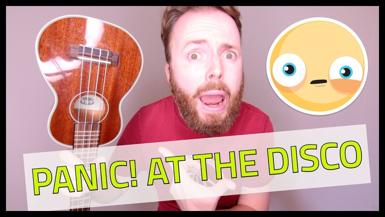 how to play panic at the disco on ukulele