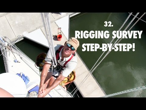 32. Lazy Gecko Sailing - Sailboat Rigging Survey Step-By-Step!
