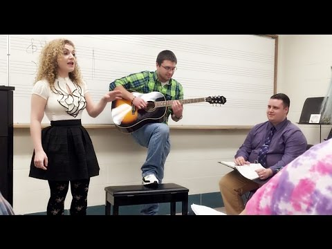 "Thumbnail: Professor starts singing ""Love Yourself"" by Justin Bieber - what happens next is AMAZING!"