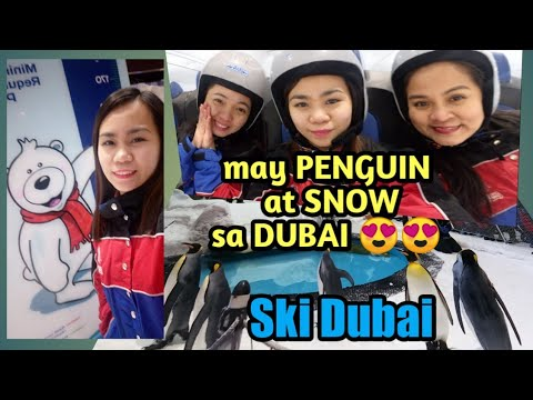SKI DUBAI!! sobrang lamig, may SNOW AT PENGUIN PA😍😍  #SKIDUBAI #PENGUIN #SNOW