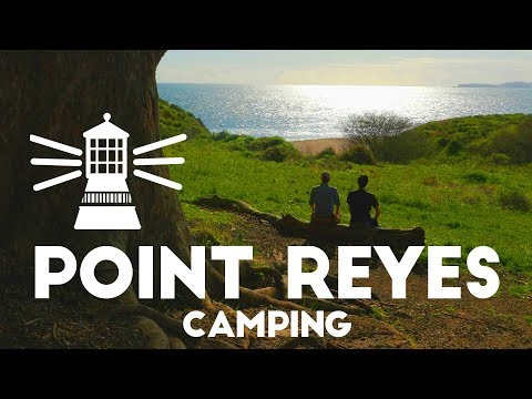 Point Reyes near San Francisco 4K | Camping & Hiking Coast Camp