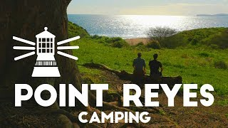 Camping the California Coąst | Point Reyes Backpacking in 4K