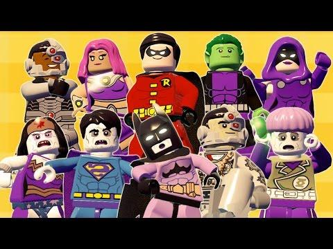 LIGA DA JUSTIÇA BIZARRA VS JOVENS TITAS - LEGO Batman 3 | Briga de Herois #128